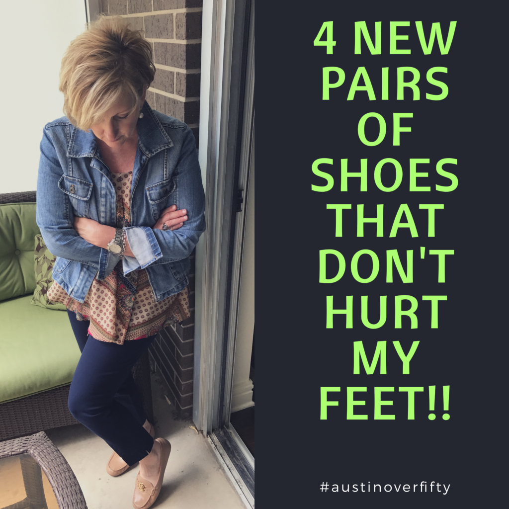 4 New Pairs of Shoes That Don't Hurt My Feet