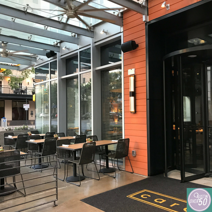 A Carefree New Place to Eat - Caroline on Congress Avenue