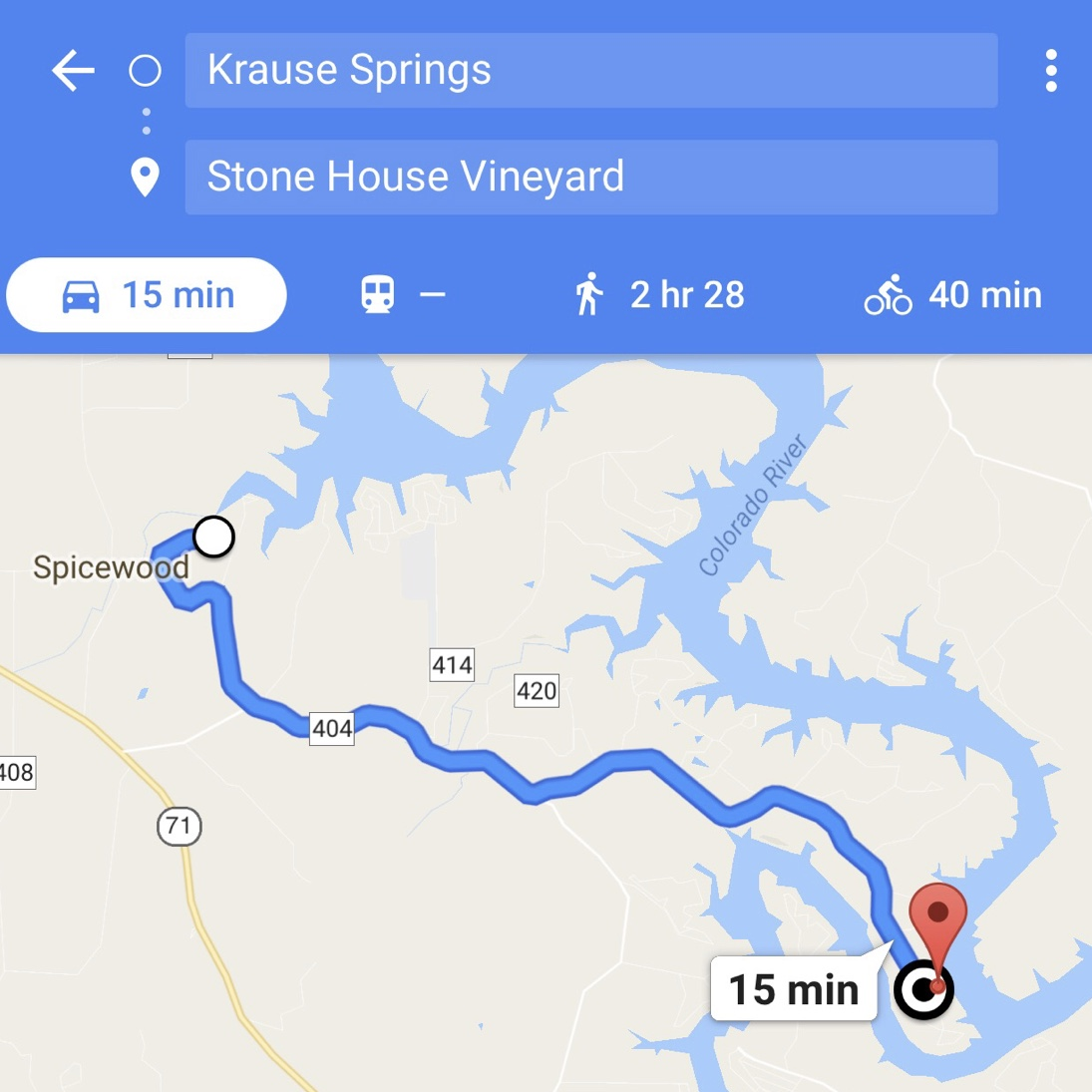 A Scenic Day Trip to Krause Springs and Stone House Vineyard