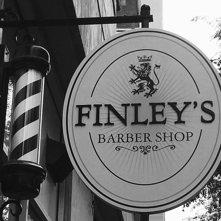 Men Love a Good Hot Shave at Finley's Barber Shop