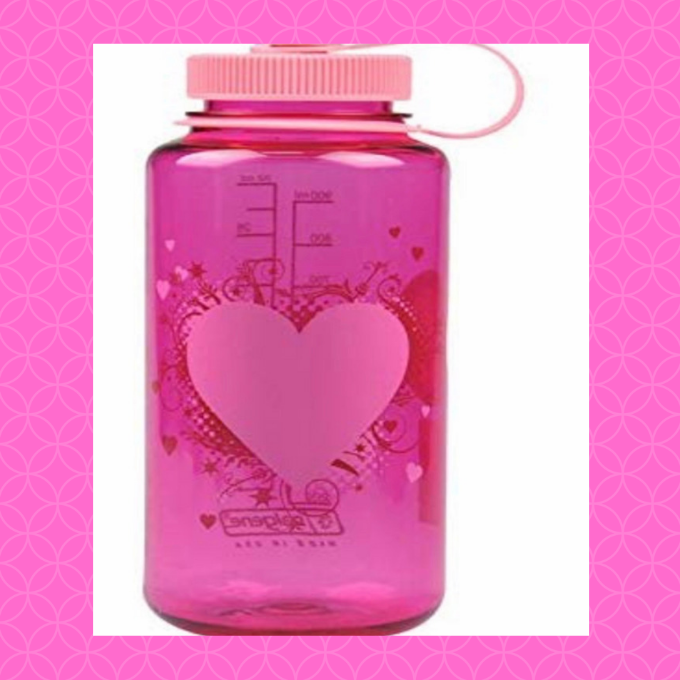 Who doesn't need a Valentine's Day water bottle?