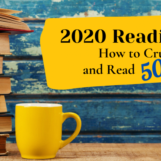 How to Read 50 Books in a Year